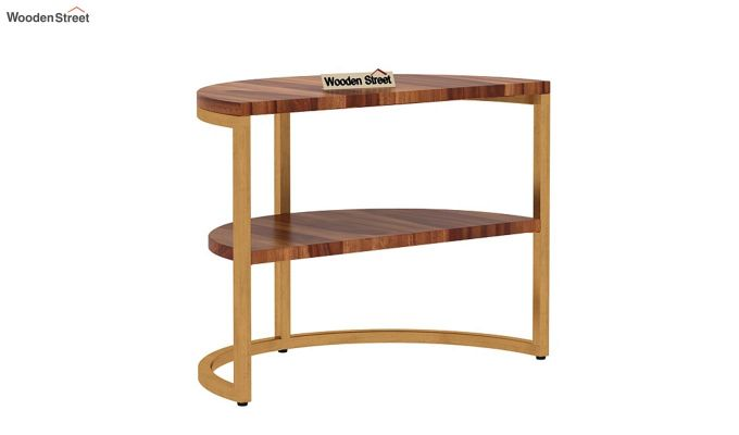 Eros Coffee Table (Teak Finish)-10