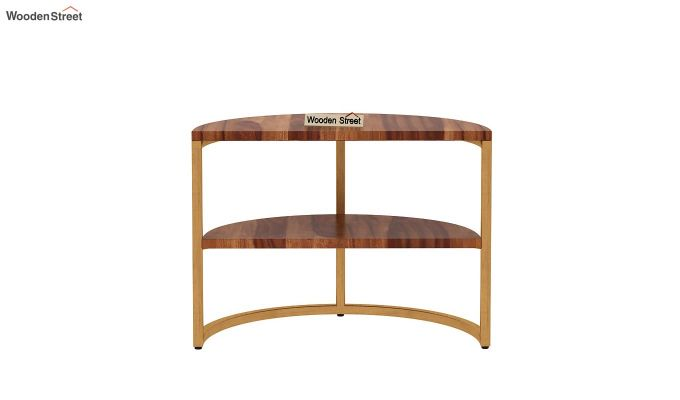Eros Coffee Table (Teak Finish)-11