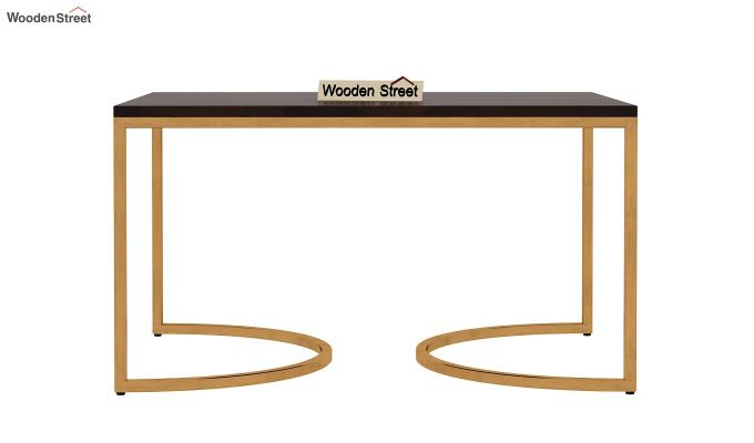 Eros Coffee Table (Walnut Finish)-7