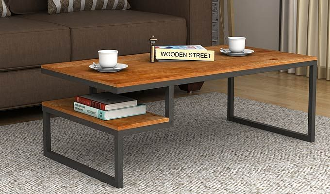 Eve Loft Coffee Table (Teak Finish)-1