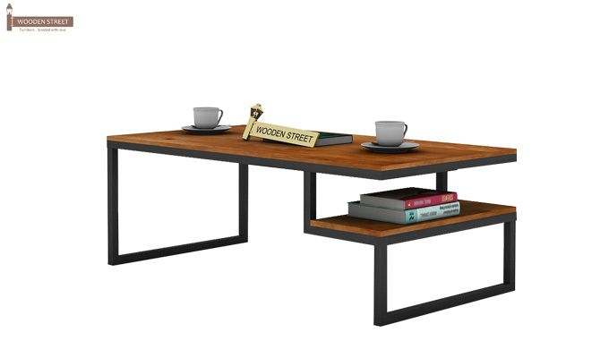 Eve Loft Coffee Table (Teak Finish)-3