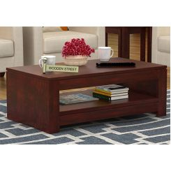 Fager Coffee Table (Mahogany Finish)