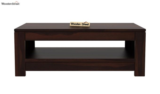 Fager Coffee Table (Walnut Finish)-4