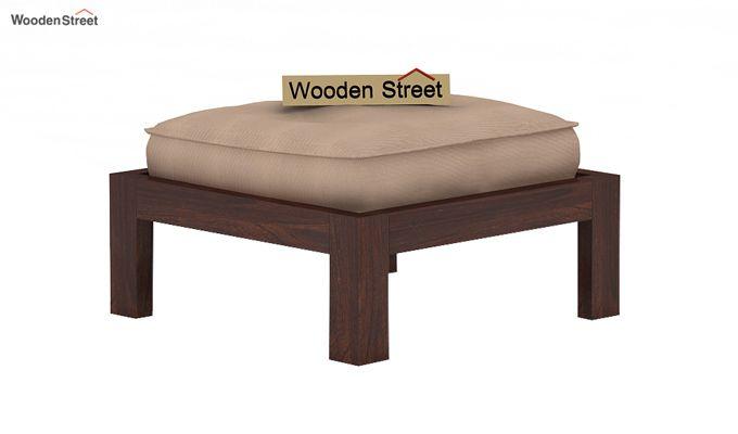 Farrow Center Table With Stools (Walnut Finish)-6