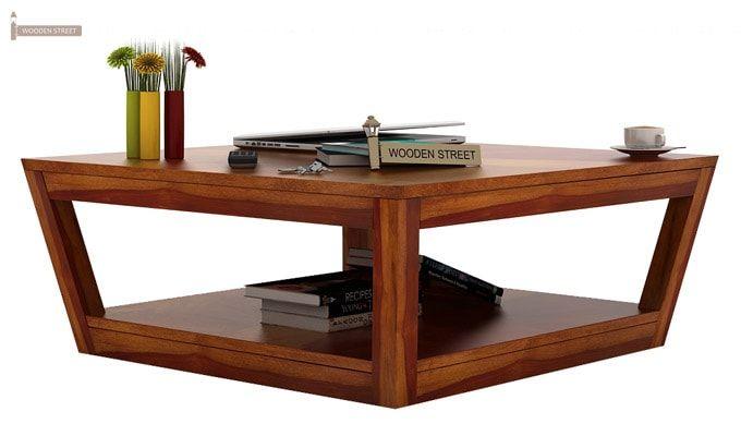 Freberg Center Table (Honey Finish)-2