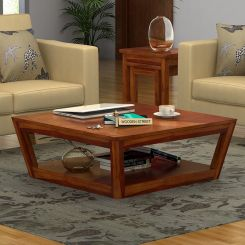 Freberg Center Table (Honey Finish)