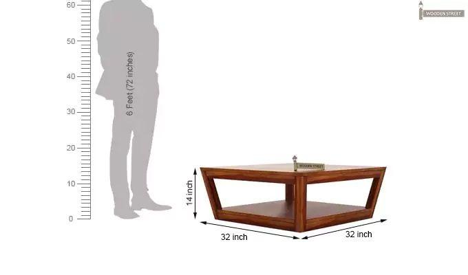Freberg Center Table (Honey Finish)-6