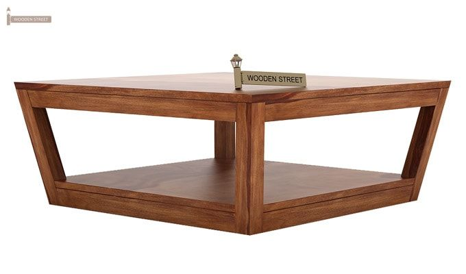 Freberg Center Table (Teak Finish)-3