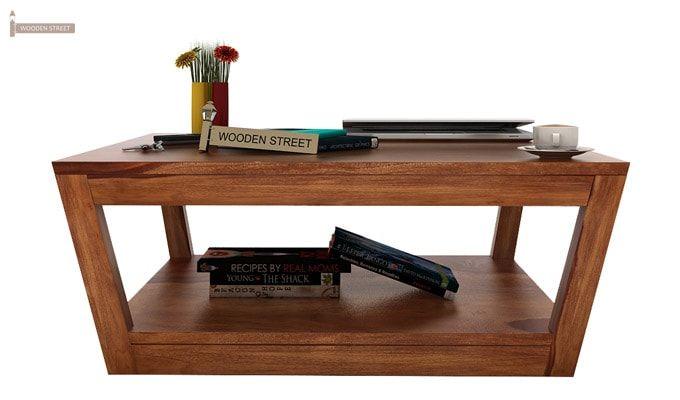 Freberg Center Table (Teak Finish)-2