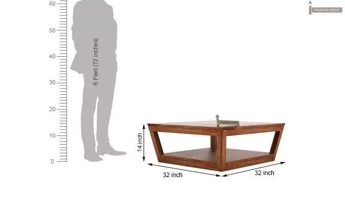 Freberg Center Table (Teak Finish)-5