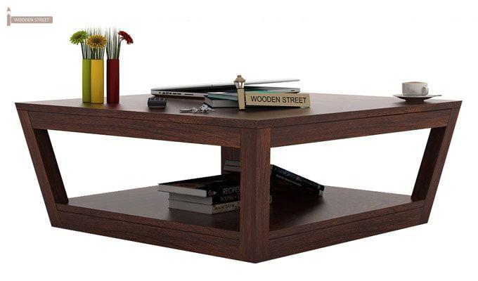 Freberg Center Table (Walnut Finish)-1