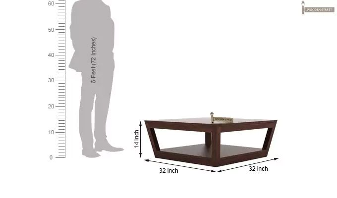 Freberg Center Table (Walnut Finish)-5