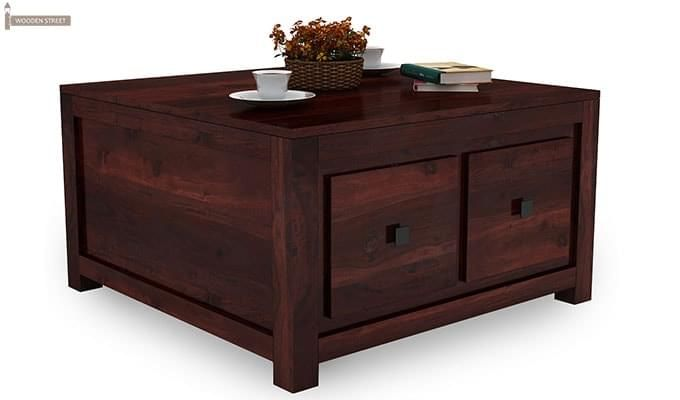 Gideon Coffee Table (Mahogany Finish)-2