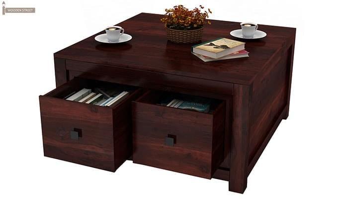 Gideon Coffee Table (Mahogany Finish)-3