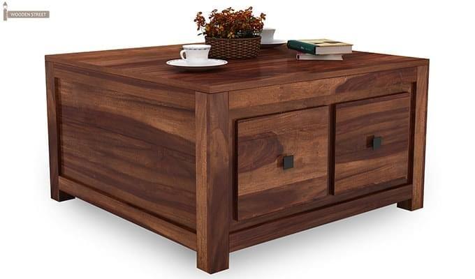 Gideon Coffee Table (Teak Finish)-2