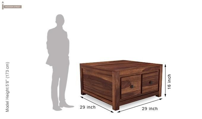 Gideon Coffee Table (Teak Finish)-6