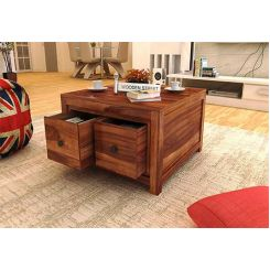 Gideon Coffee Table (Teak Finish)