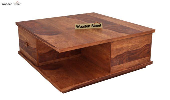 Hammond Coffee Table (Honey Finish)-3