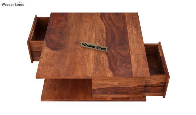 Hammond Coffee Table (Honey Finish)-5