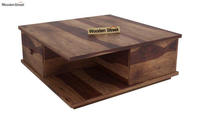 Hammond Coffee Table (Teak Finish)-3