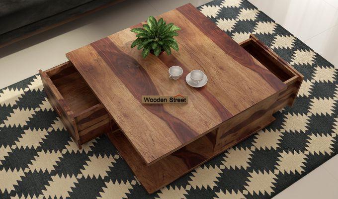 Hammond Coffee Table (Teak Finish)-2