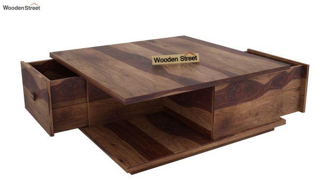 Hammond Coffee Table (Teak Finish)-4