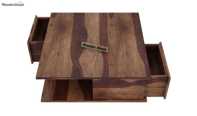 Hammond Coffee Table (Teak Finish)-5