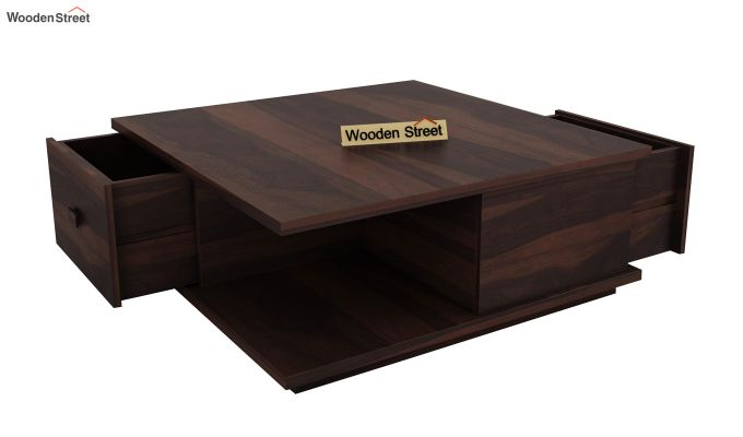 Hammond Coffee Table (Walnut Finish)-4