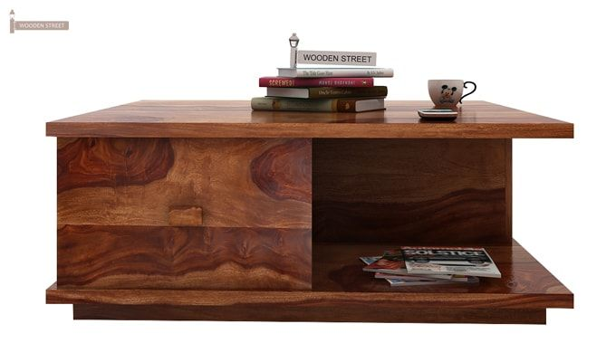 Hammond Coffee Table (Teak Finish)-1