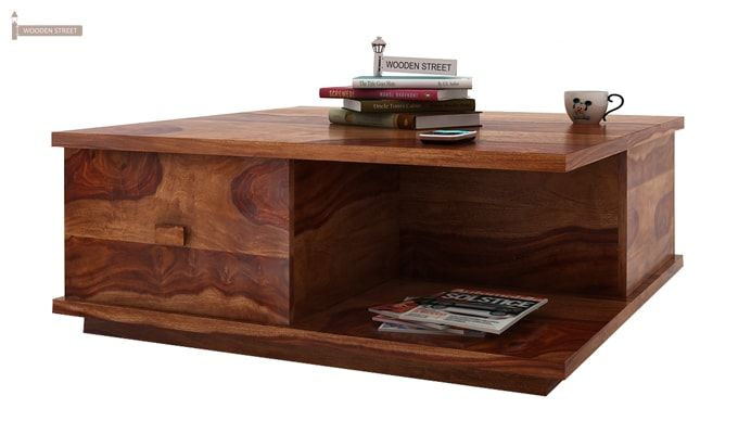 Hammond Coffee Table (Teak Finish)-2