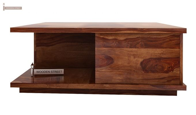 Hammond Coffee Table (Teak Finish)-3