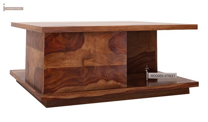 Hammond Coffee Table (Teak Finish)-4