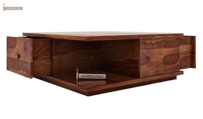 Hammond Coffee Table (Teak Finish)-5