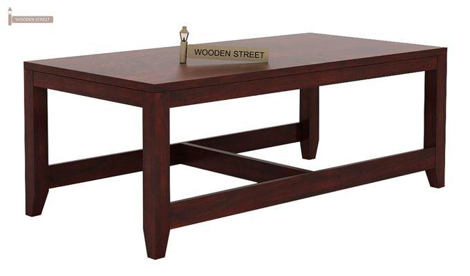 Hardley Center Table (Mahogany Finish)-6