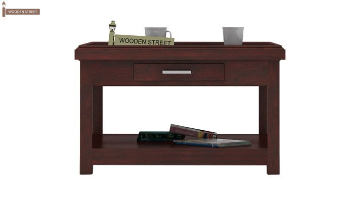 Harris Coffee Table (Mahogany Finish)-2