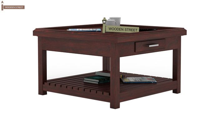 Harris Coffee Table (Mahogany Finish)-1
