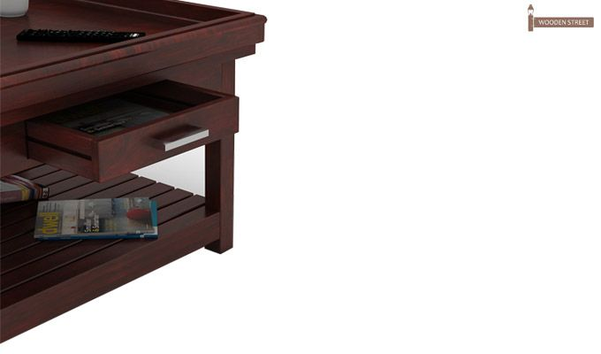 Harris Coffee Table (Mahogany Finish)-3