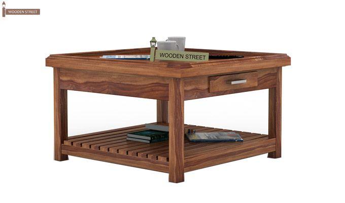 Harris Coffee Table (Teak Finish)-1
