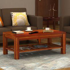 Harrison Coffee Table (Honey Finish)