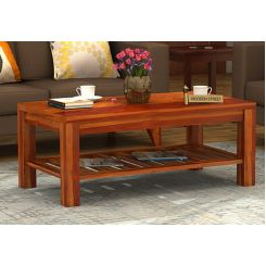 Harrison Coffee Table (Honey Finish)
