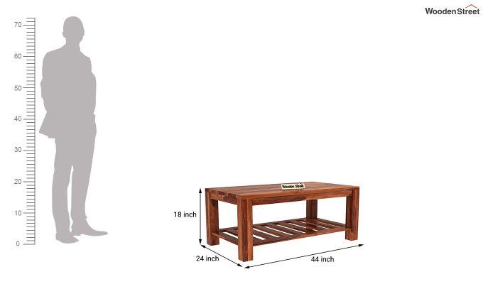 Harrison Coffee Table (Honey Finish)-5