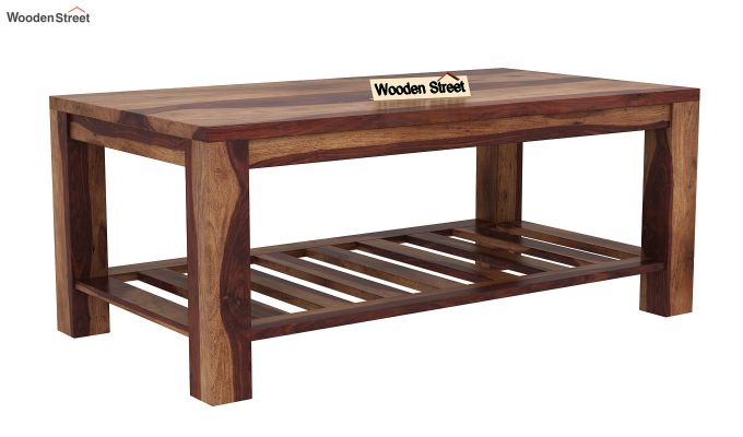 Harrison Coffee Table (Teak Finish)-3