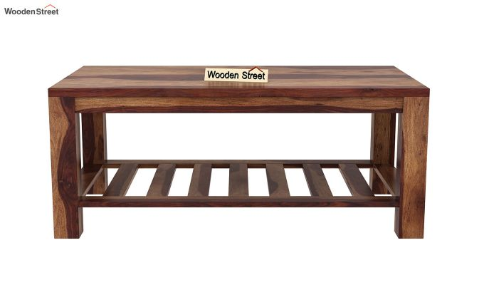 Harrison Coffee Table (Teak Finish)-4