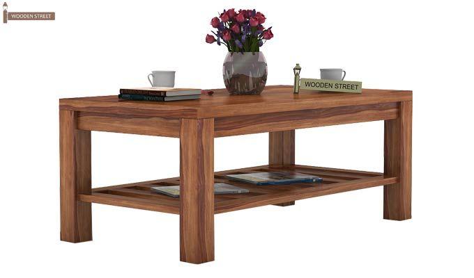 Harrison Coffee Table (Teak Finish)-1