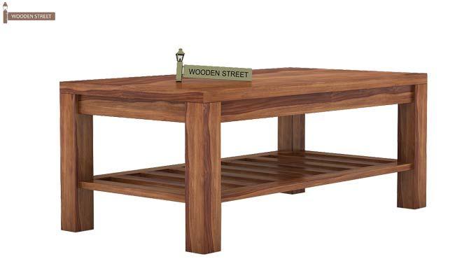Harrison Coffee Table (Teak Finish)-3