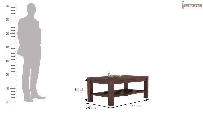 Harrison Coffee Table (Walnut Finish)-5