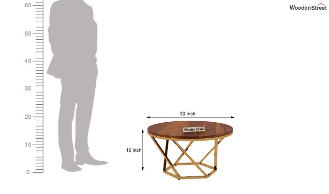 Hexo Coffee Table (Honey Finish)-4