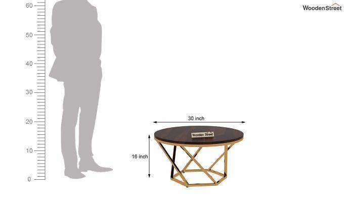 Hexo Coffee Table (Walnut Finish)-4