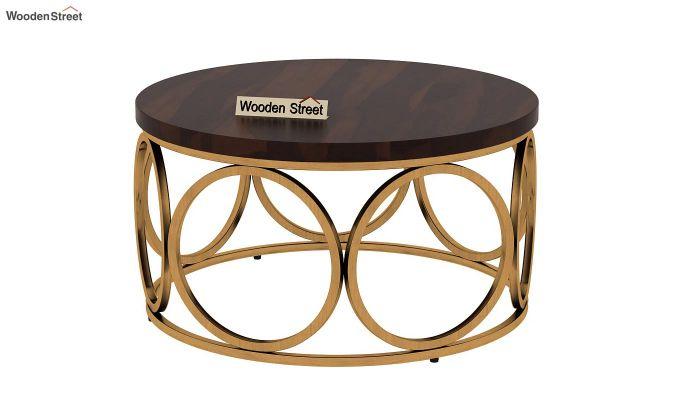 Hoop Coffee Table (Walnut Finish)-4