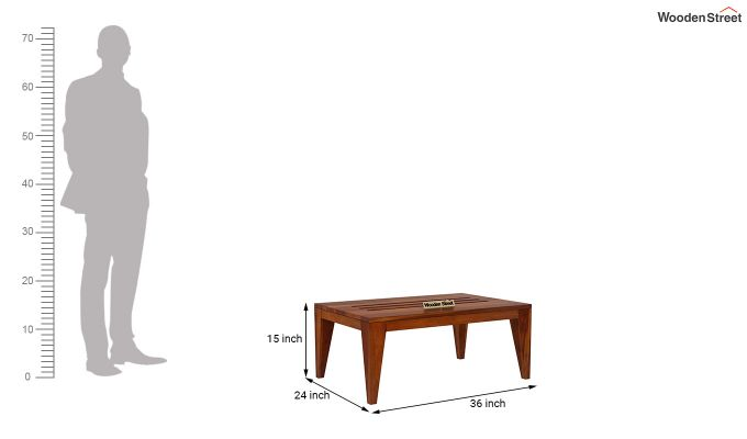 Hugo Tea Table (Honey Finish)-5